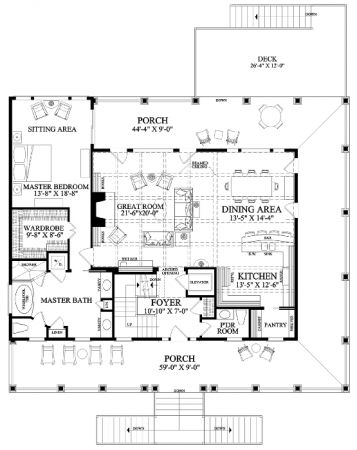 Floor Plan Tradewinds...this might be THE house of my dreams....