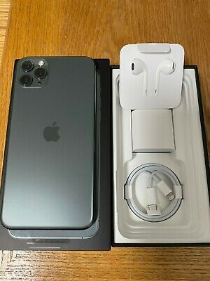 Apple Iphone 11 Pro Max 64gb Midnight Green Unlocked A2161 Cdma Gsm For Sale Online Ebay In 2020 Iphone Iphone Phone Cases Iphone Phone