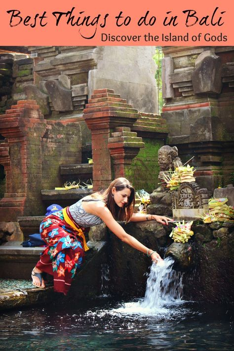 Best of Bali: Things to do in the Island of Gods! Local experiences, tourist attractions, and the best places to stay in Bali. All the top things to do in Bali in a practical travel guide to the Island of Gods in Indonesia. via @loveandroad #Bali #Indonesia #HotelsinBali #ThingsToDo #BestofBali #BaliFood #BaliBeach #BaliTemples #TravelTips