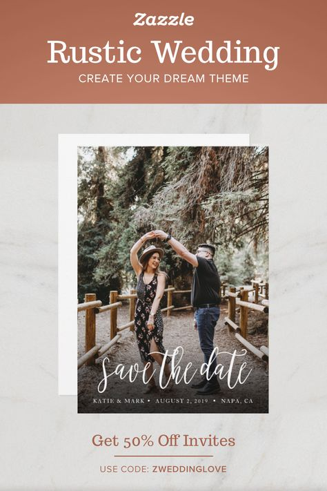 Rustic Wedding - Zazzle