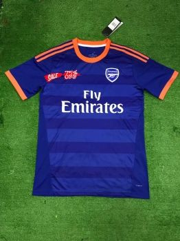 new style b82df 77998 2019-20 Cheap Jersey Arsenal Blue Replica Soccer Shirt ...
