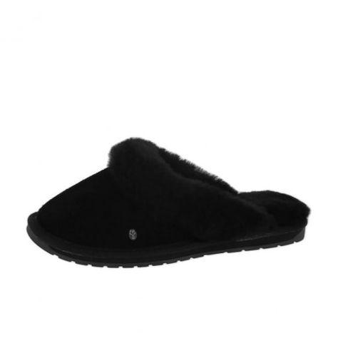 38fd7c3c3 EMU Australia Jolie Slippers Black | Cosy Women's Slippers ...