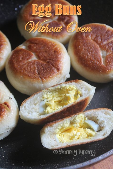 How To Make Soft Buns Without Oven On A Frying Pan Recipe