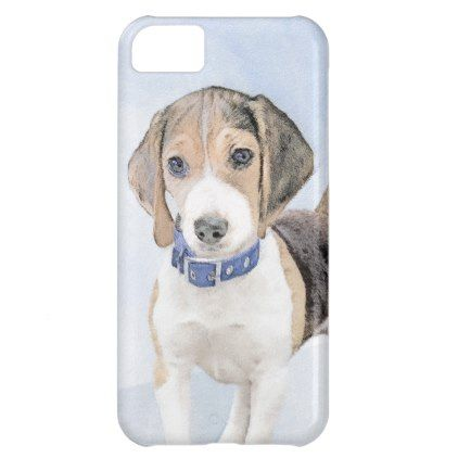 Beagle Painting Cute Original Art Case For Iphone 5c Beagle