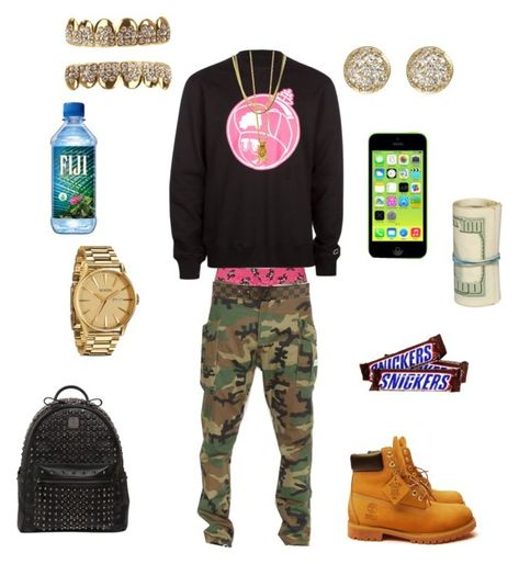 A fashion look from April 2015 featuring timberland boots and MCM. Browse and shop related looks.