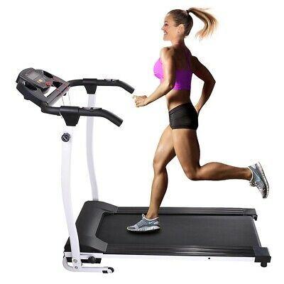 1100w Portable Electric Treadmill Folding Motorized Machine Running Gym Fitness Ebay Electric Treadmill Running Machines No Equipment Workout