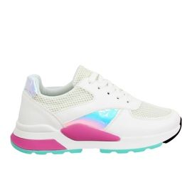 Buty Sportowe Wysoka Podeszwa Biale La78p 1 Pink Sneakers Nike Shoes Sneakers
