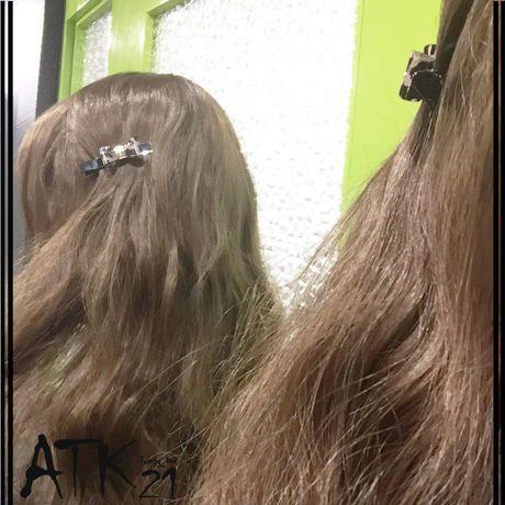 レオパード ヒョウ柄 ヘアクリップ かわいい 髪留め 前髪 サイド留め フォーククリップ 簡単ヘアアレンジ レディース ヘア