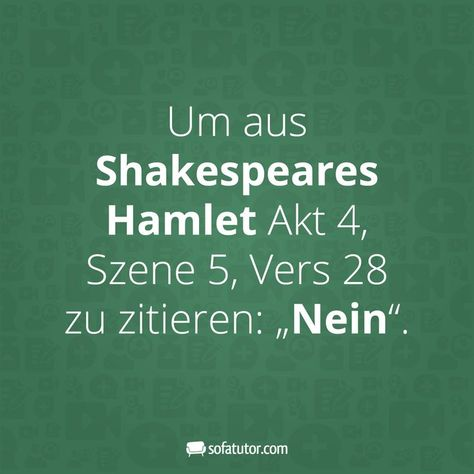 Shakespear Zitat