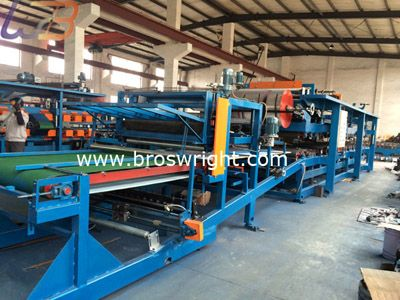 EPS Sandwich Panel Production Line   EPS/Mineral Wool