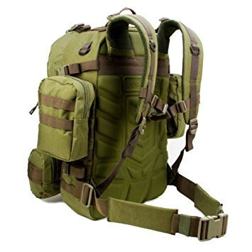 5f5d02606f4b Paratus 3 Day Operator s Pack - Military Style Surplus MOLLE Compatible  Tactical Backpack (Olive Drab Green)   Tactical Backpacks   The Paratus   dimensions ...