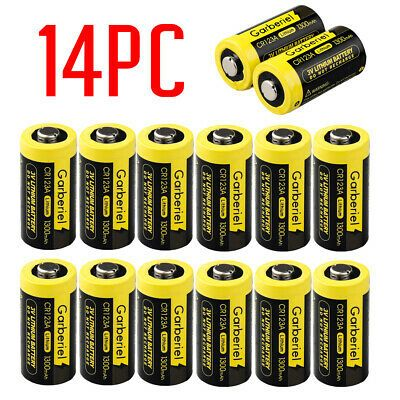 Ad 14 Pack Exp 2027 Garberiel 1300mah 123a Cr123a 3 Volt Lithium Batteries Camera In 2020 Laser Pointer Flashlight Rechargeable Battery Charger
