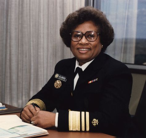 Joycelyn Elders, First African American appointed Surgeon General of the United States