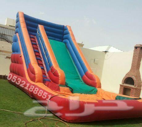 تأجير نطيطات بالرياض 0532188851 تأجير زحاليق Outdoor Decor Pool Float Park Slide