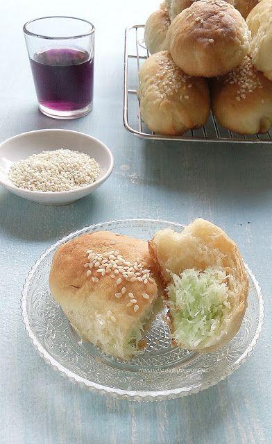 D A P U R M A N I S Roti Isi Unti Kelapa Pandan Rotis Resep Kelapa