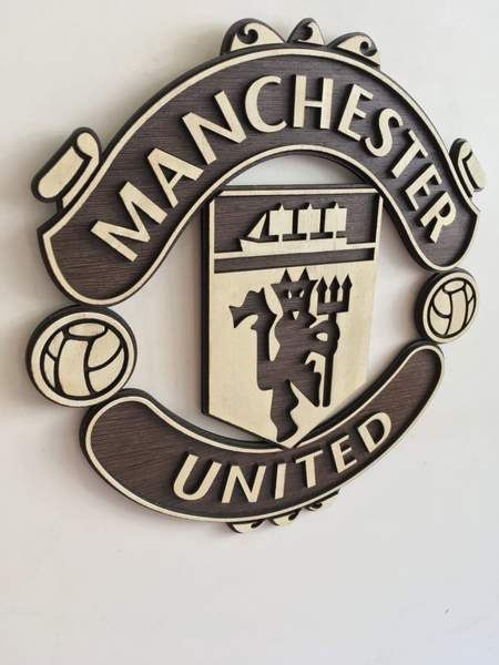 Manchester United Wooden Crest Wall Hanging Manchester United The Unit Manchester United Wallpaper