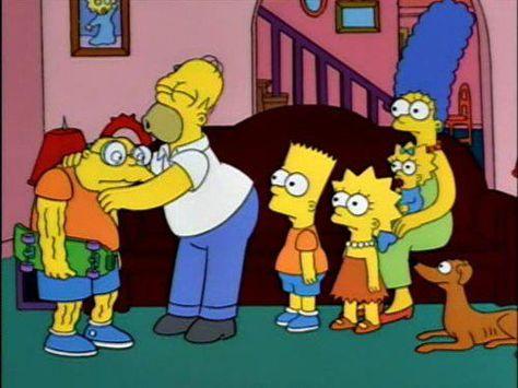 Es Como Besar Una Palanqueta Los Simpson Rick Y Morty Rick Y