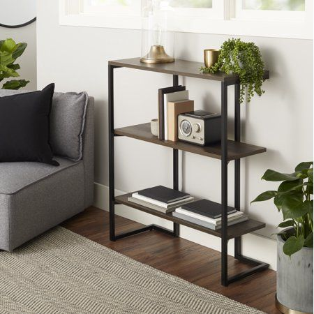 Home Bookcase 3 Shelf Bookcase Home
