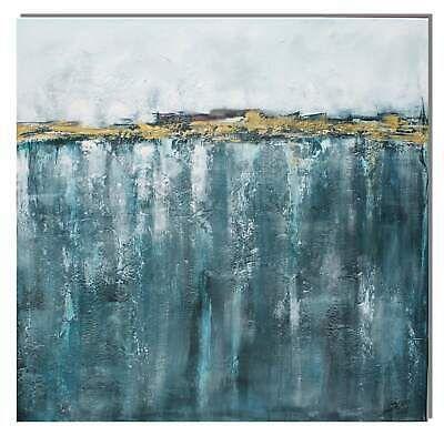 steph art acrylbild original sehnsucht 100x100 cm gemalde abstrakt blau gold ebay abstrakte bilder malerei berühmte künstler schwarz weiß