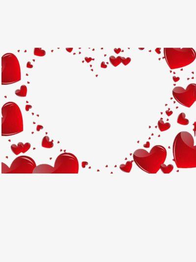 Marco En Forma De Corazon Rojo Marco Fronteras Creativas Borde Decorativo Png Y Psd Para Descargar Gratis Pngtree Heart Shaped Frame Red Heart Clip Art