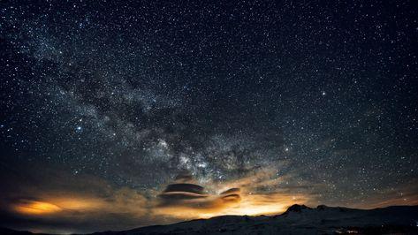 Night Sky 5k 4k Wallpaper 8k Stars Night Mountains