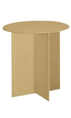 30 Inch Round Wood Display Table Wood Display Round Accent