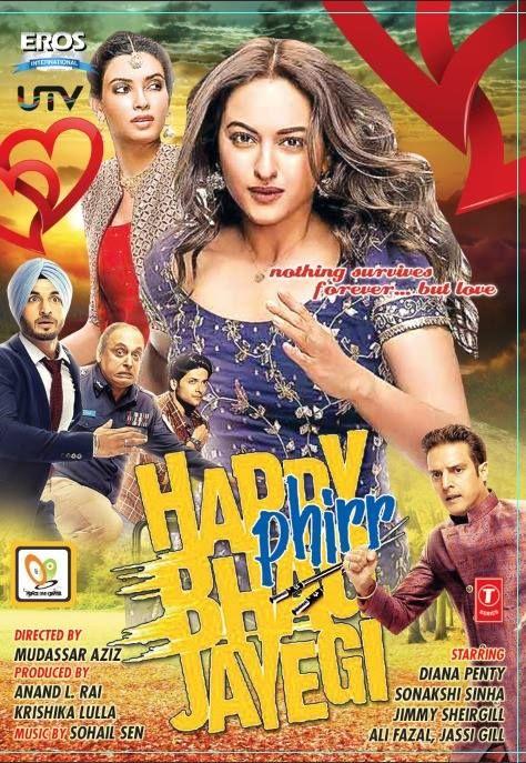 Happy Phirr Bhag Jayegi 2018 Hindi 400mb Hdrip 480p Bollywood