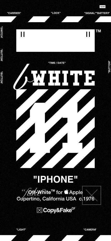 Off White Wallpaper Iphone X Paulbabbitt Com