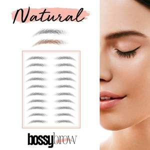 1 Rated 4d Temporary Eyebrow Tattoo Stickers Ships From Usa Bossybrow In 2020 Eyebrow Tattoo Brows Brow Tattoo
