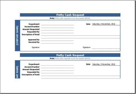 Cash Receipt Template DOWNLOAD at http\/\/wwwtemplateinn\/cash - petty cash request form