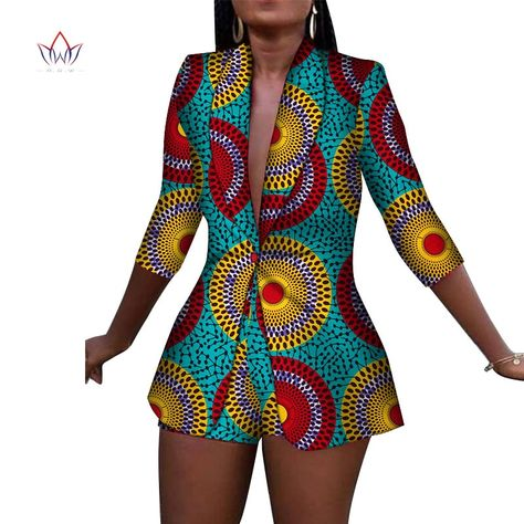 New Women Suit and Short Pants Sets Bazin Riche African Clothes 100% Cotton Print 2 Pieces Sets Women African Clothing WY3492-in Africa Clothing from Novelty & Special Use on AliExpress - 11.11_Double 11_Singles' Day