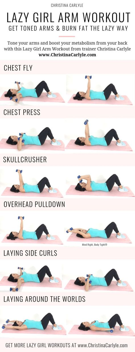 Arm Workout for Tight Toned Arms