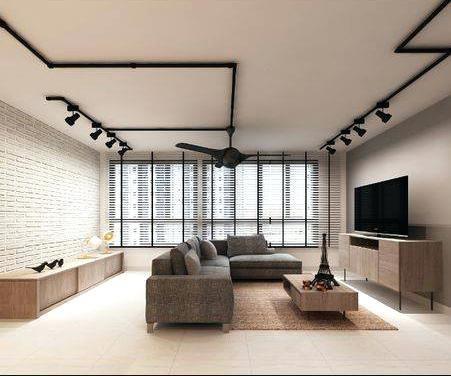 Cheerful Track Lighting For Living Room Black Track Lights Brick