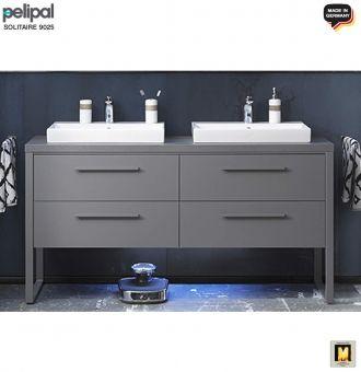Pelipal Solitaire 9025 Waschtisch Set 160 Cm Keramik Aufsatz