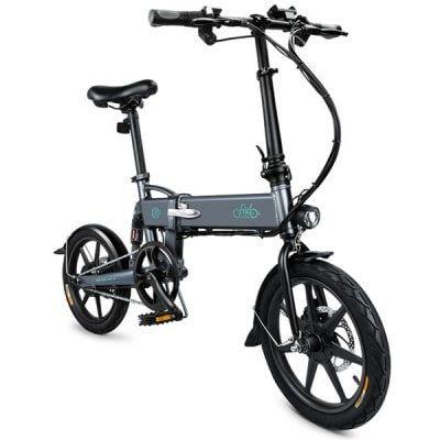Fiido D2 Slate Gray Electric Bikes Sale Price Reviews Folding Electric Bike Electric Bicycle Electric Bike