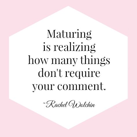 {The Classy Woman Blog}: A Classy Woman Doesn't Comment on Everything, she leaves Mystery and Discretion #maturity #classy
