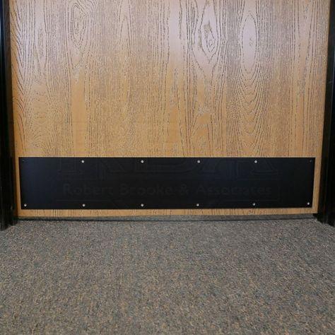 Satin Black Kick Plate 315an In 2020 Door Kick Plates Kick Plate Aluminium Doors
