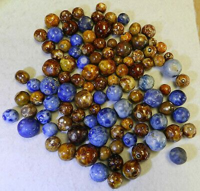 Ad 10640m Vintage Group Or Bulk Lot Of 100 German Bennington Marbles 40 To 79 In In 2020 Bulk Lots Vintage Bennington