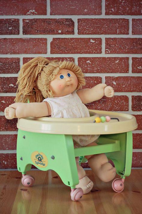 Marchette Bout'choux 1986 Marchette pour poupée par PastelEtPixel