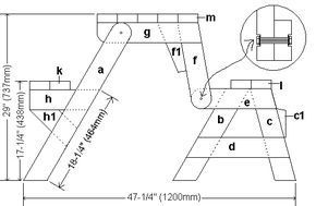 How To Build A One Piece Folding Picnic Table Out Of 2x4 Lumber Buildeazy Folding Picnic Table Picnic Table Folding Picnic Table Plans