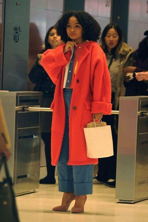Yara Shahidi - Yara Shahidi Source by malloryharriis - Mode Outfits, Chic Outfits, Fall Outfits, Fashion Outfits, Fall Dresses, Vetement Fashion, Mode Streetwear, Look Vintage, Moda Fashion