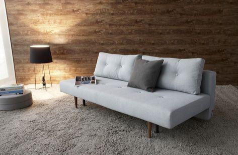 Slaapbank Lounge Grijs.Innovation Slaapbank Recast Plus Soft Pacific Pearl 552 Groen