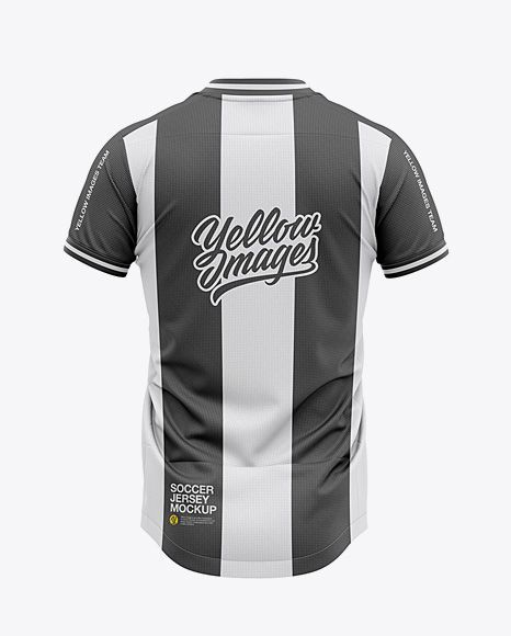 Download Men S Soccer V Neck Jersey Mockup Back View 3d Apparel Clothing Football Footballjersey Garment Jersey Clothing Mockup Shirt Mockup Design Mockup Free