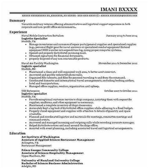 Career Objective For Resume Logistics Specialist Objectives Resume Objective 787 Career Obj