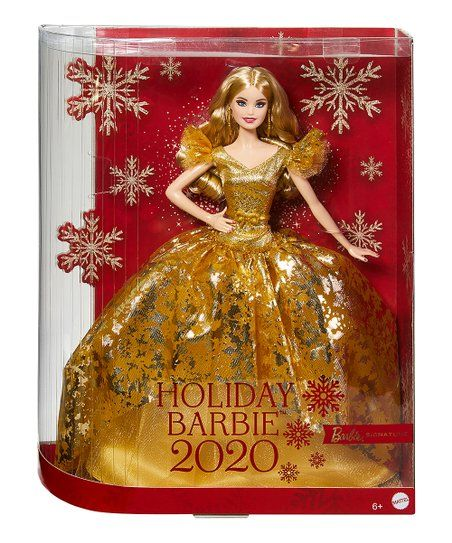 Barbie 2020 Holiday Blonde Doll Best Price And Reviews Zulily In 2020 Holiday Barbie Collection Holiday Barbie Holiday Barbie Dolls