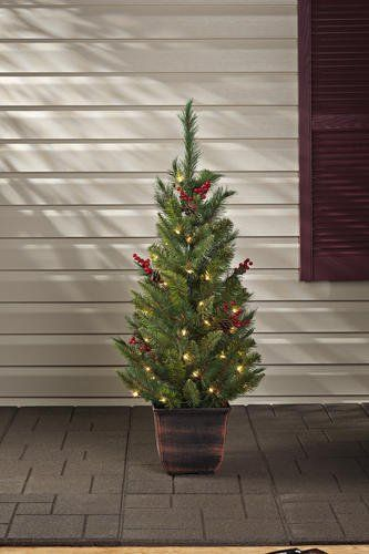 48 Prelit Lowell Entryway Artificial Christmas Tree Decoration Read More At The Image Li Christmas Decorations Tree Decorations Christmas Tree Decorations