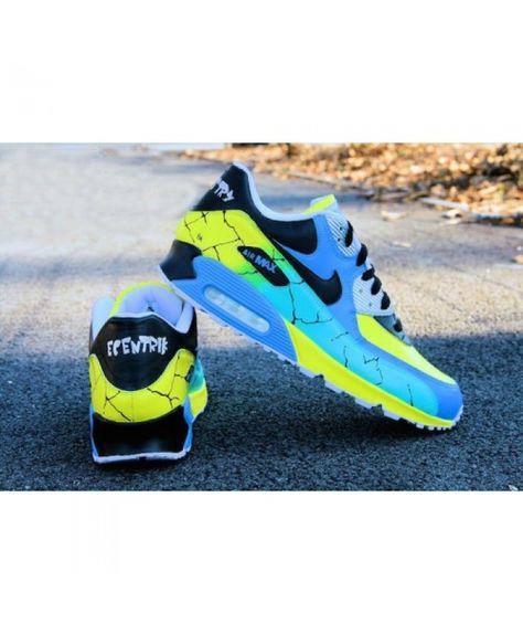 Nike Air Max 90 Chameleon Gene Custom Running Shoes UK Shop