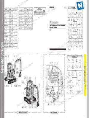 Caterpillar 304c 305c Cr Mini Excavator Wiring Diagram With