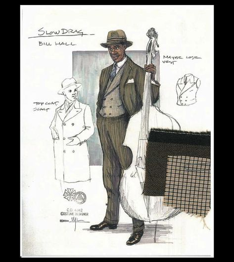 Ma Rainey's Black Bottom (Slow Drag). Arizona Theatre Company. Costume design by Matthew J. LeFebvre. 2010