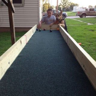 Outdoor Carpet Ball Table Also Called Gutter Ball Outdoor Carpet Outdoor Indoor Gardening Kit